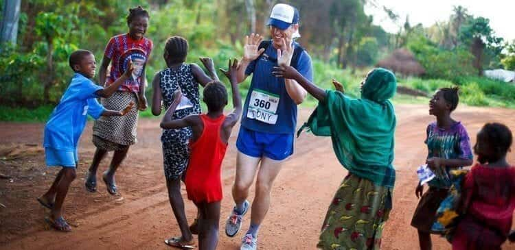 Running for the worthiest cause in Sierra Leone